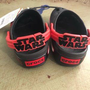 Crocs Kids Star Wars Red and Black C11
